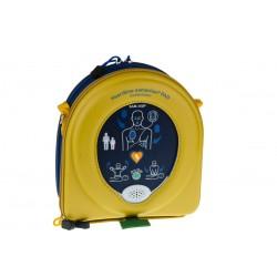 HeartSine Samaritan 350P vue dans sa sacoche de transport