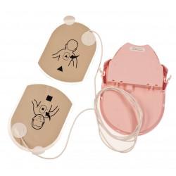 Pad-Pak enfant pédiatique pour défibrillateur Heartsine Samaritan